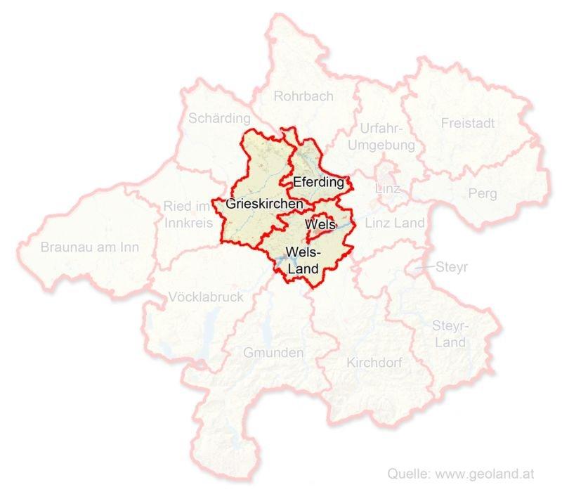 Eferding/Grieskirchen/Wels